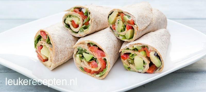 Wrap-met-avocado