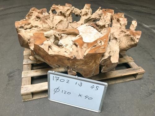 Salontafel met glasplaat 120x40