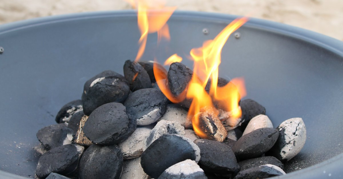 Barbecue-aansteken