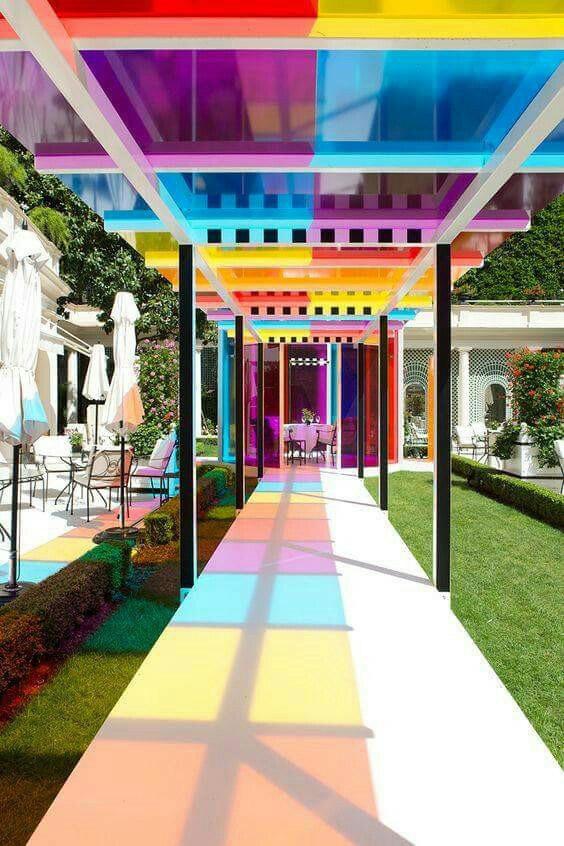 Regenboog kleuren