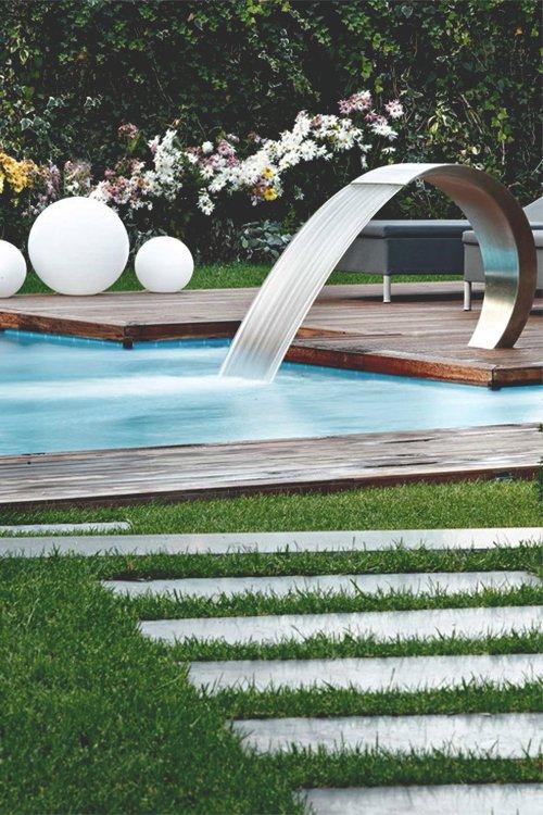 Moderne waterval
