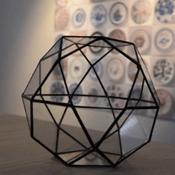 glazen terrarium pot