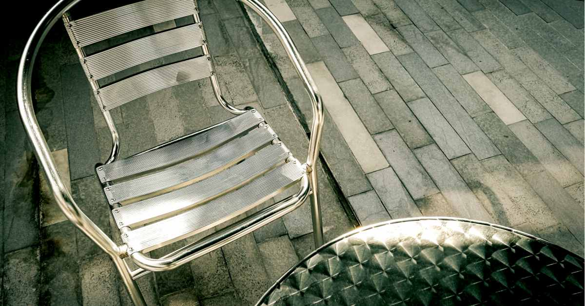 Aluminium tuinmeubelen