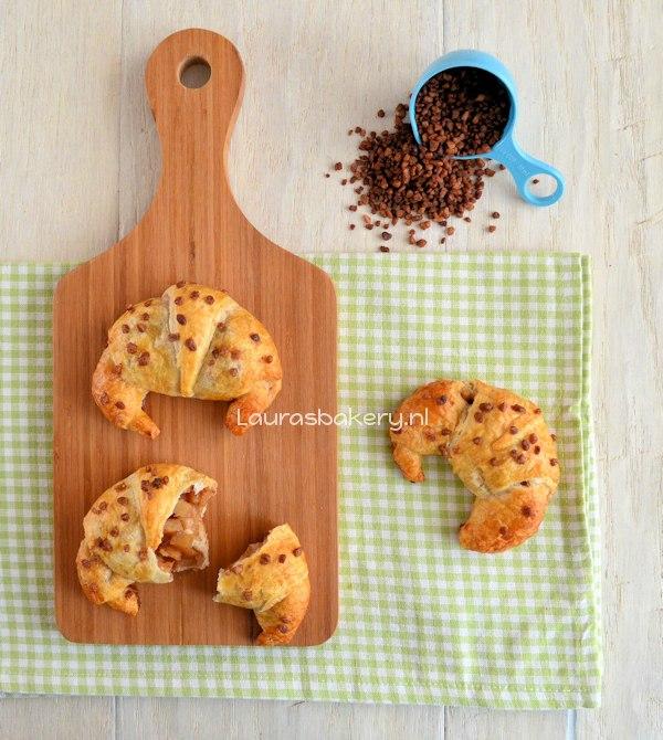 Appel kaneel croissants