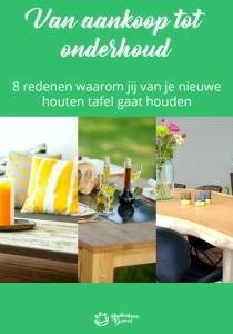 Ebook houten tafels