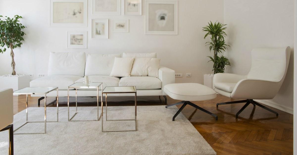 Houten vloer wit interieur buitenlevengevoel