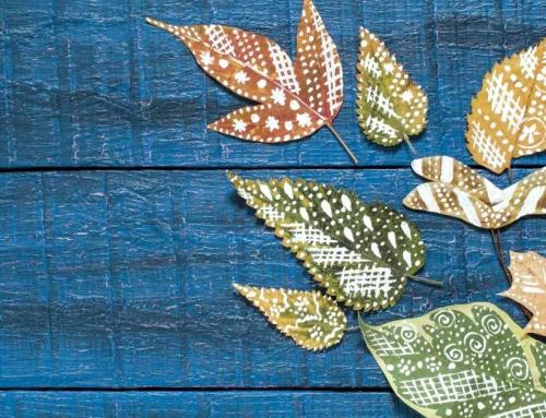 Knutselen met herfstbladeren: 14 stijlvolle decoraties
