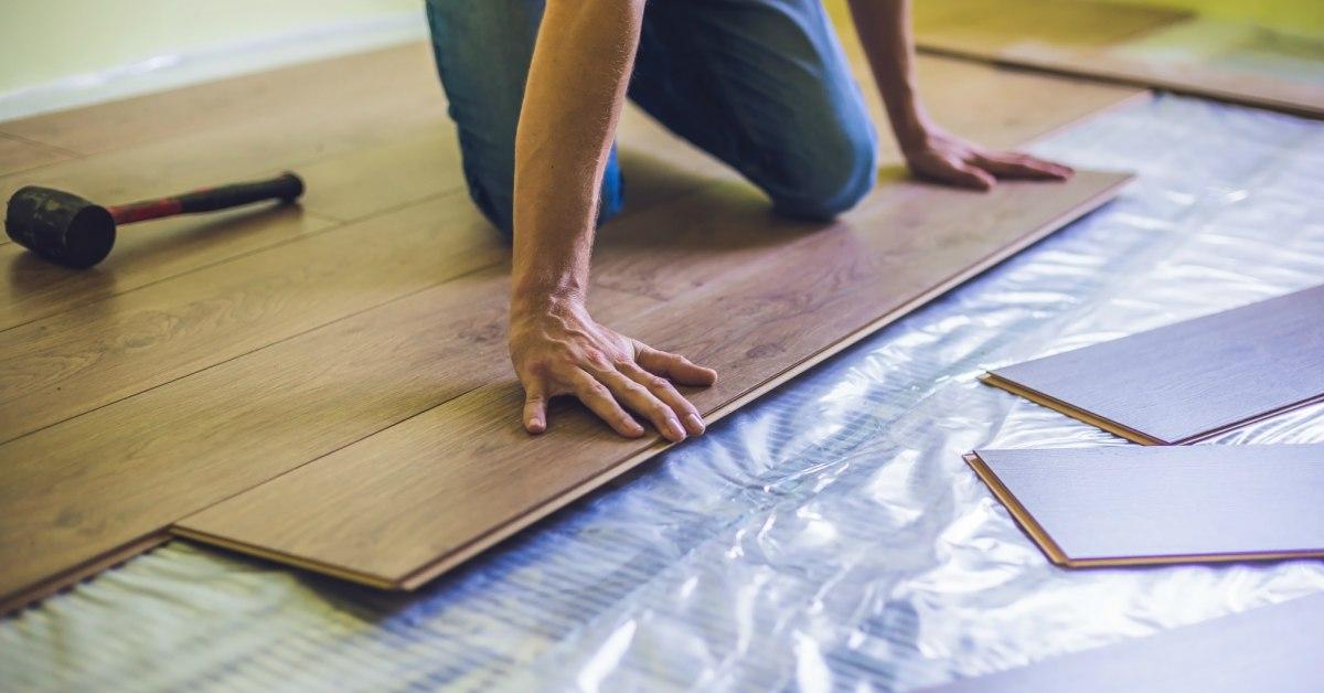 Laminaat leggen op ondervloer