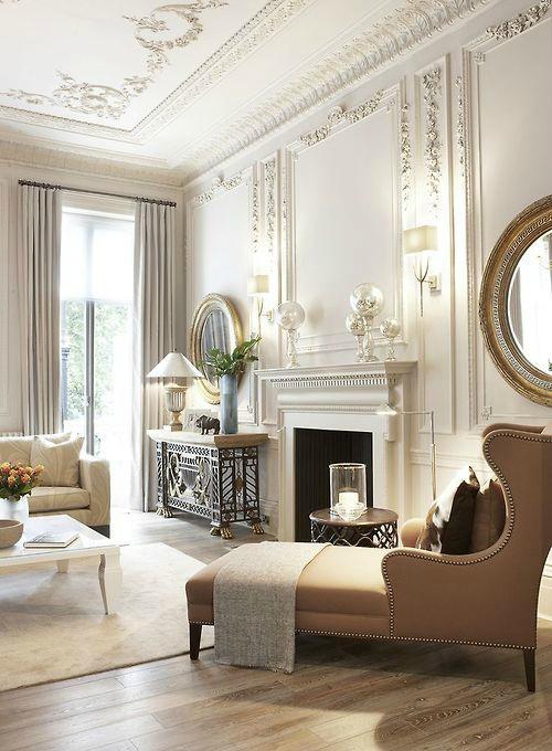 Klassiek interieur licht