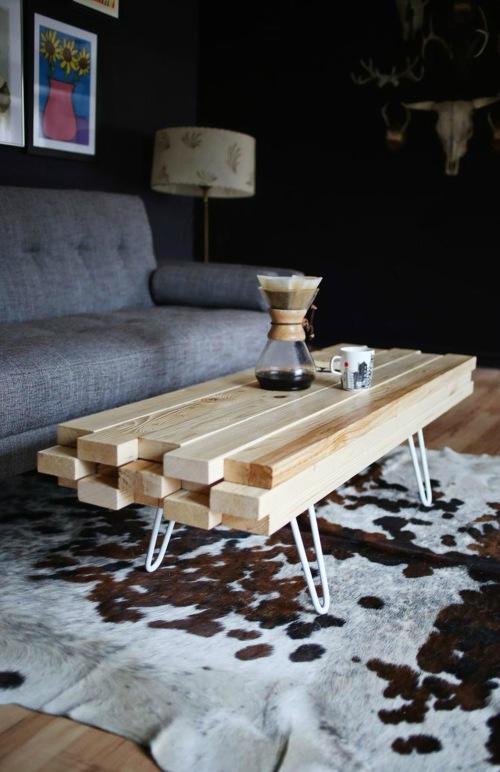 Tafel van planken