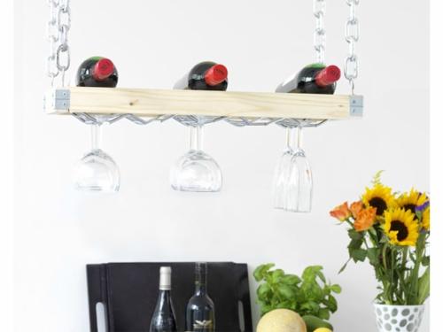 Hangend wijnrek