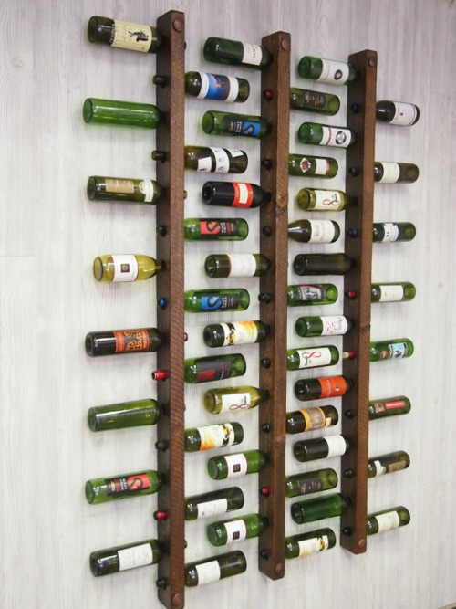 Voorkeur Een Uniek Wijnrek Van Hout: 15 Design Items Voor In Jouw Interieur! #HI27
