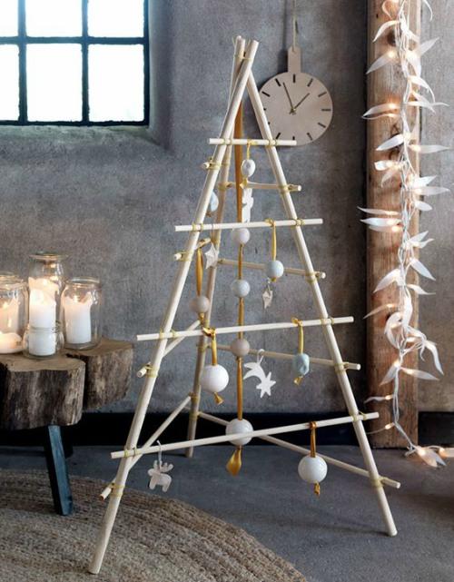 Industriële kerstboom