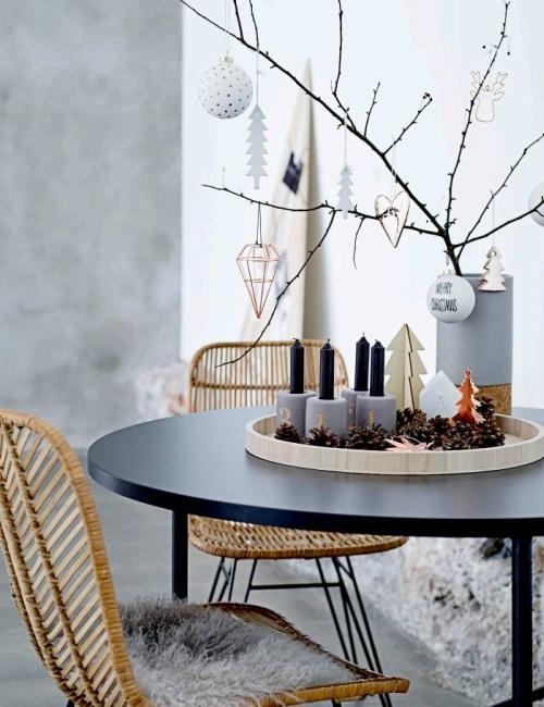 Kersttrends van 2017.2018 - Scandinavisch