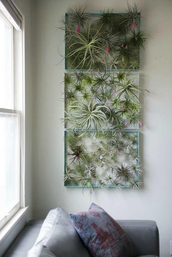 Luchtplanten schilderij