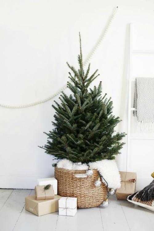 Rustige kerstboom