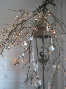 verlichting in kersttakken