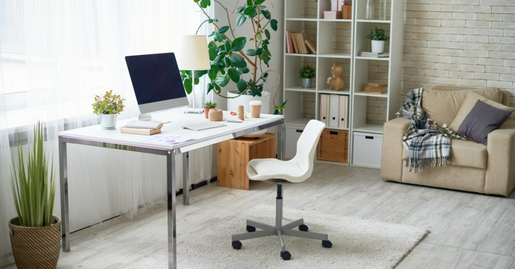 Bureau met stoel