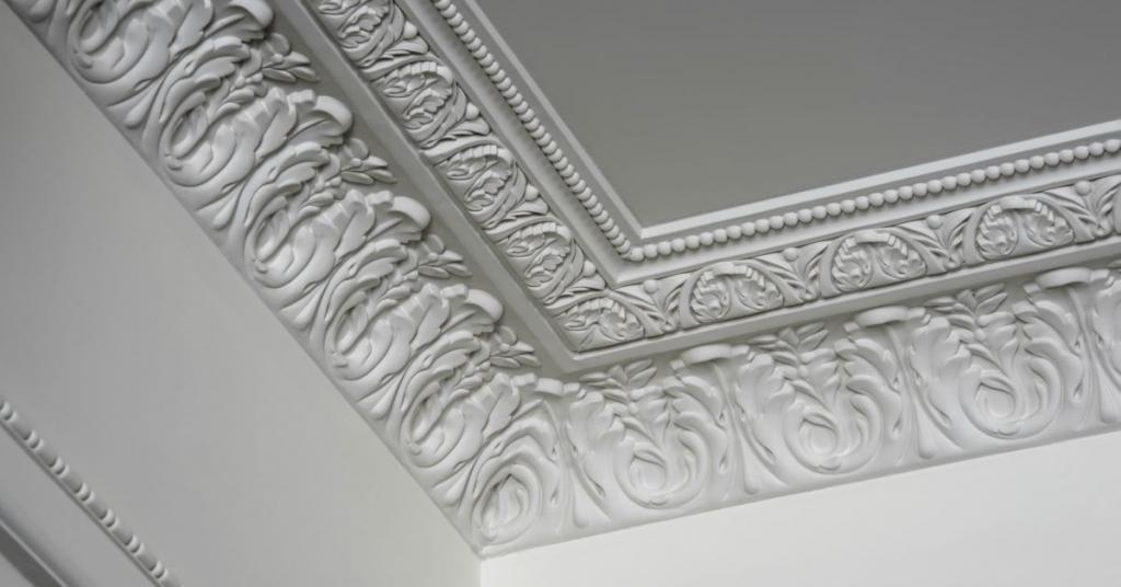 Een plafondlijst