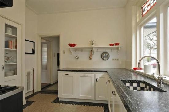 Graniet in de keuken
