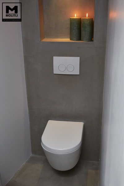 Geliefde Toiletruimte renoveren | Tips en tricks om je toilet in te richten @NJ22