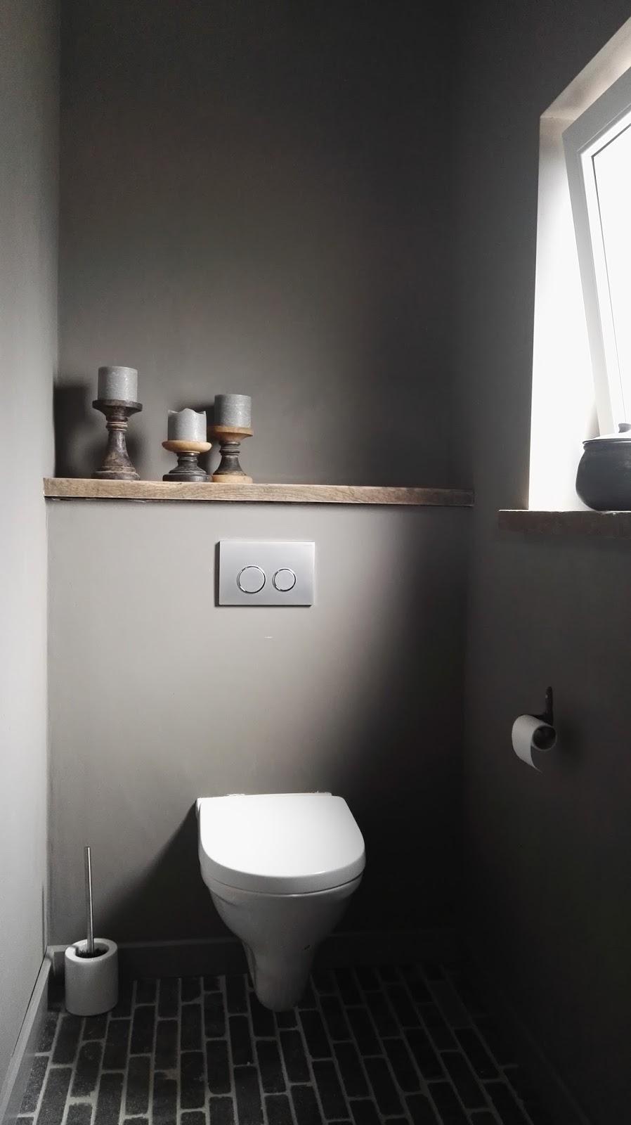 Bekend Je Toiletruimte Renoveren Tot Een Kunstig Klein Kamertje &IC02