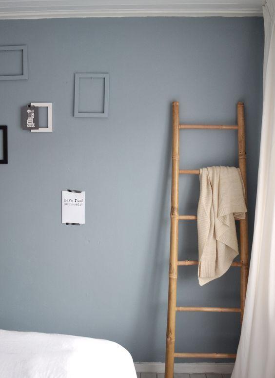 ladder tegen muur