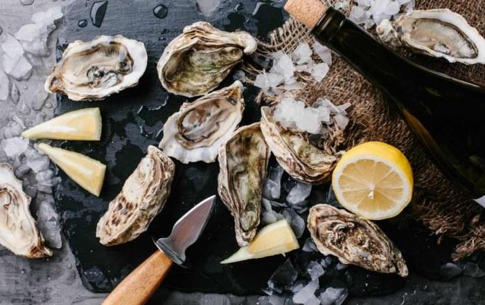 oesters plukken