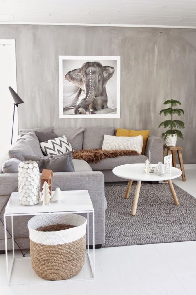 olifant aan muur