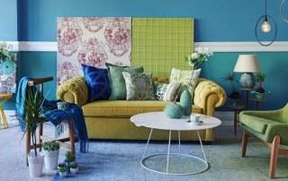 Bohemian stijl woonkamer
