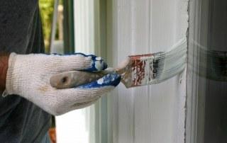 Buitenkant van het huis schilderen