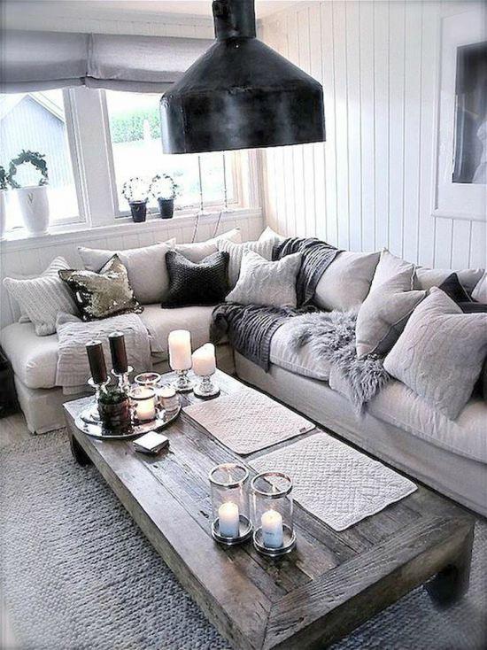 een salontafel met landelijke sfeer landelijk interieur