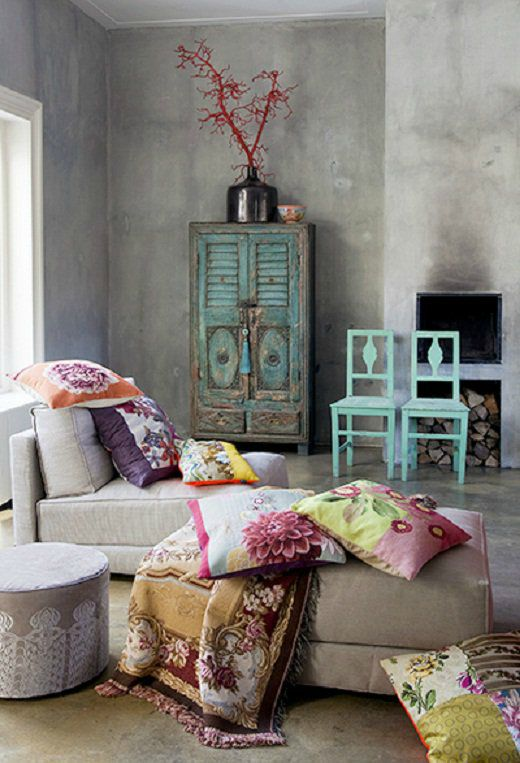 Turquoise interieur