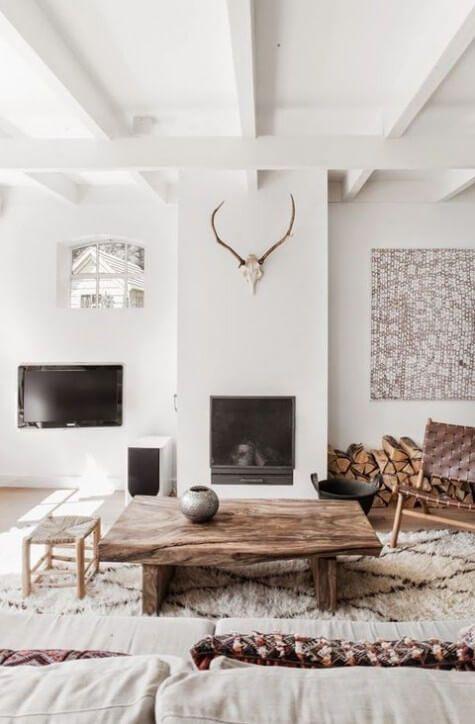 Woonkamer Scandinavische stijl