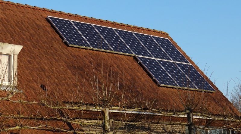 zonnepaneel dak