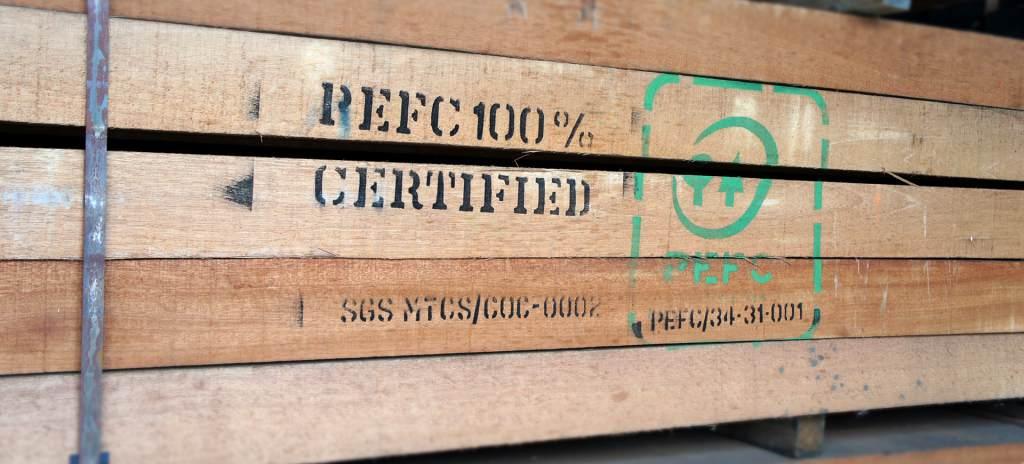 pefc keurmerk hout