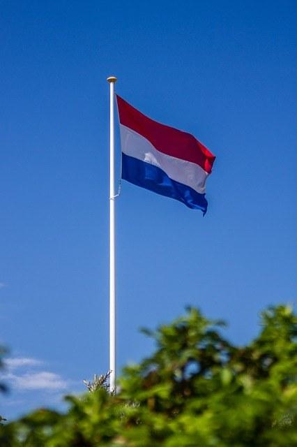 vlaggen mast tuin